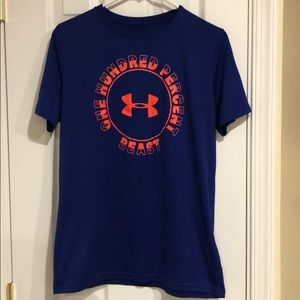 Under Armour Youth Blue Athletic Shirt